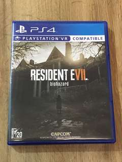 Ps4 Game Resident Evil 7 biohazard