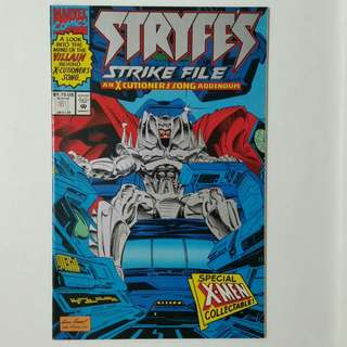 Stryfe's Strike Files No.1 comic