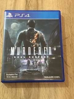 PS4 MURDERED: SOUL SUSPECT