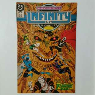Infinity Inc No.46 comic