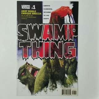 Swamp Thing No.1 comic