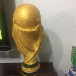 Fifa World Cup , 40 cm tall , 18 cm Wide