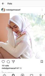 Hijab voal melody prima scarf