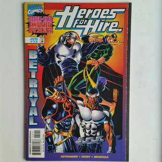 Heroes For Hire comics lot