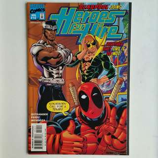 Heroes For Hire No.10 comic