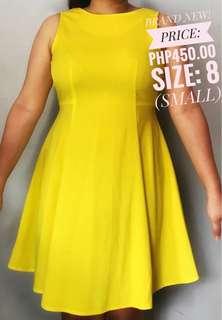 Atmosphere Yellow Dress