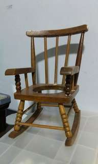 Rocking chair  & piano music box