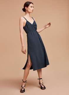 NEW with tags Aritzia wrap dress