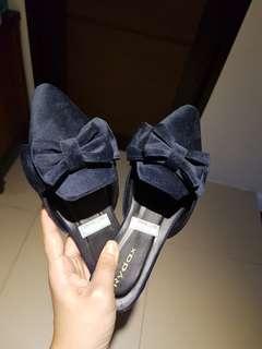 Rydax Ribbon Velvet Mules Size 6