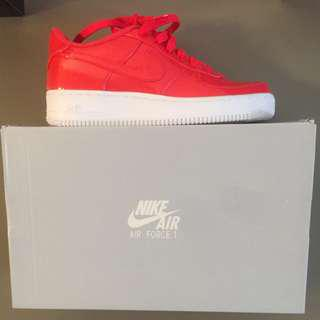 Pink nike Air Force 1s
