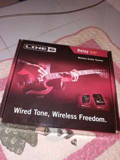(brand new)LINE 6 Relay G30 wireless guitar system