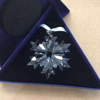 Swarovski 水晶擺設 2018限量雪水晶雪花