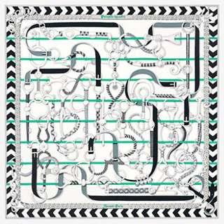 Hermes 90cm scarf new pattern