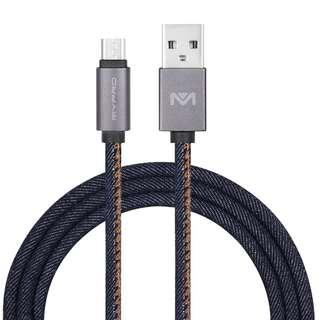 Denim Braided Type C cable