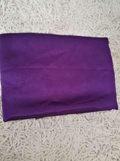 Purple silk cloth \ approximately 2 feet