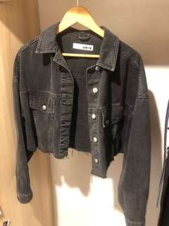 Topshop Crop Denim Jacket