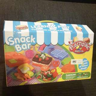 Plasticine Magical Snack Bar *not Playdooh