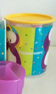 Tupperware One Touch Canister Twinkle