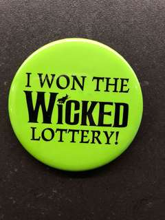Wicked Lottery Badge 😊