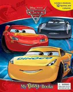 My busy book - Disney Cars 3
