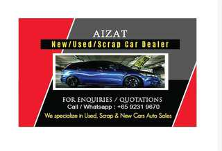 Scrap new used cars