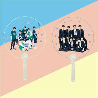 BTS transparent fan