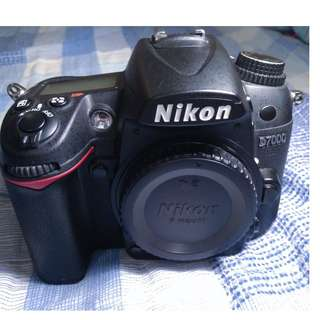 RUSH! Nikon D7000 body 21k shuttercount