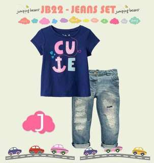 Stelan jeans anak
