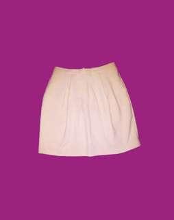 bread n butter salmon highwaist skirt