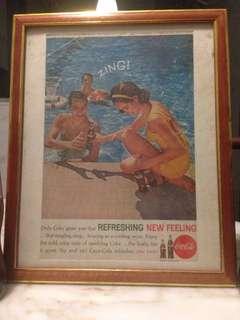 Coca Cola collection Ana photo frame.