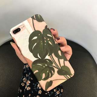 Tropical Iphone 6/6s, 6+/6s+, 7/8, 7+/8+, X Case