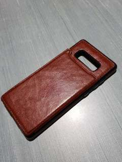Samsung note 8 leather case