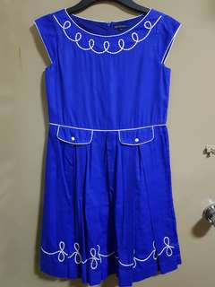 Periwinkle Blue Dress 12Y