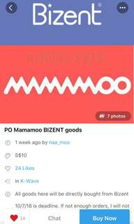 🚚 Repost! PO mamamoo goods