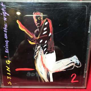 Sting - Bring On The Night LIVE CD 2