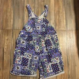 Floral Over-All
