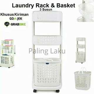 Laundry Rack n basket