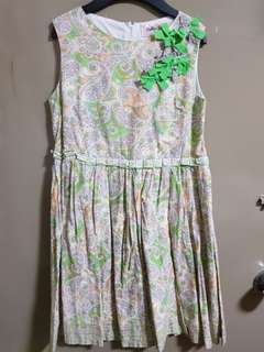 Bella Belle Green dress size10