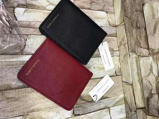 Charles and Keith Card and Passport holder