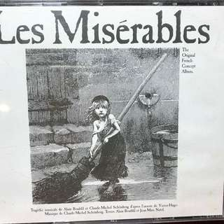 Les Miserables - The Original FRENCH concept album - 2 discs IN FRENCH