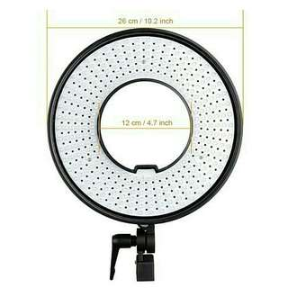 Ring light bicolor travel friendly preloved