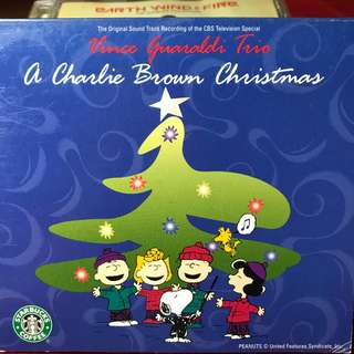 A Charlie Brown Christmas OST Music Cd