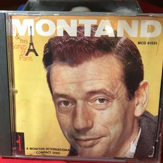 Yves Montand: Songs of Paris