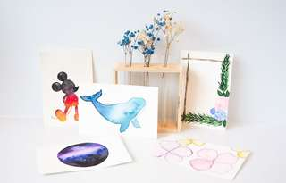 Watercolor Gift Cards