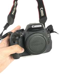 *price nego* Canon 600D + kit lens + 50mm + Free gift
