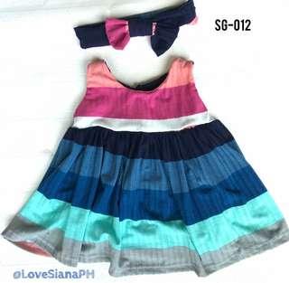 Baby Dress with Headband SG-012