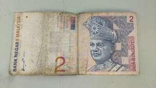 DUIT LAMA RM2