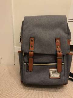 Grey Backpack/Satchel