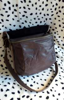 Imported leather Sling Bag