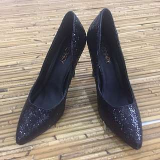 Therapy Glitter Heels Size EUR 38
